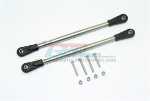 GPM for Team LOSI-1//6 Super Baja Rey 4X4 Aluminum Adjustable 15T SERVO Horn Black 6PC Set